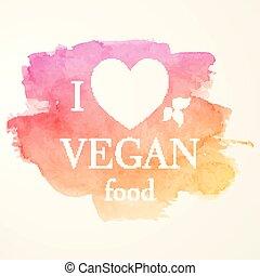 Vegan Food Emblem