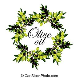 wreath of olive branches