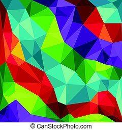 vector illustration of abstract background Geometric element