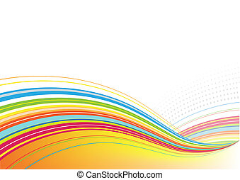 abstract background - Vector illustration of abstract ...