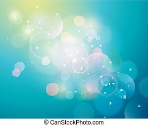 Abstract background with blur light
