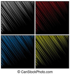 Vector illustration of abstract background with blurred lines