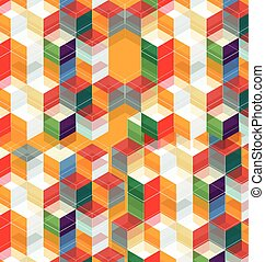 abstract hexagon background