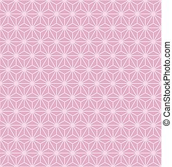 vector illustration of abstract pink geometric background