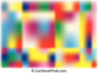 Vector illustration of abstract vibrant background