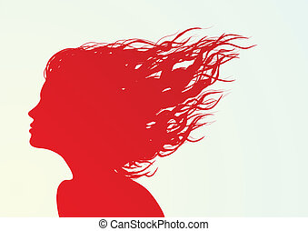 face silhouette
