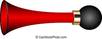 Vector illustration of air horn