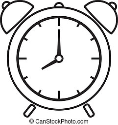 alarm clock - Vector illustration of alarm clock