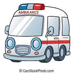 Ambulance - Vector illustration of Ambulance