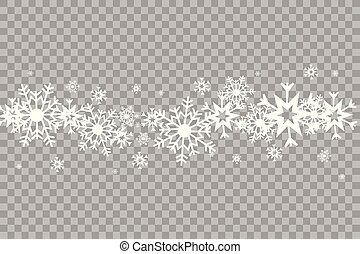 Vector illustration of an abstract christmas background with snowflakes