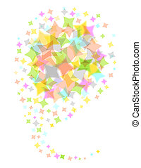 vector illustration of an abstract background. EPS10 format