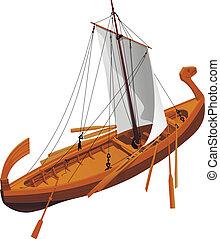 old slavic ship