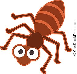 Vector illustration of ant