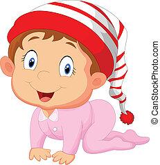 Baby girl cartoon