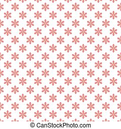 Vector illustration of Background with snowflakes