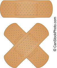 bandage - Vector illustration of bandage