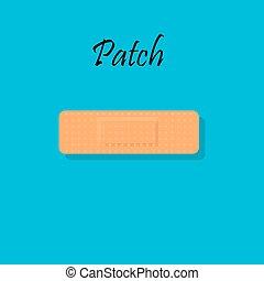 Bandage Plaster or Aid Band