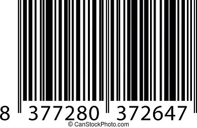 Vector illustration of barcode
