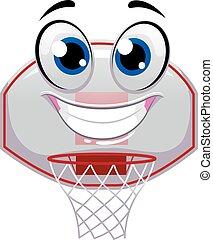 Basketball Ring mascot