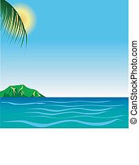 Beach Background 7