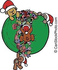 bear doodle cartoon