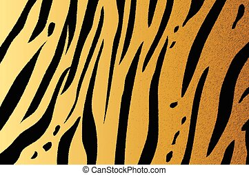 bengal tiger stripe pattern