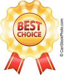Best choice gold label