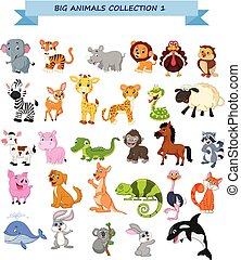 Big animals collection set