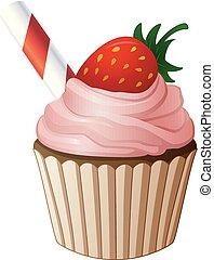 Birthday cake cartoon