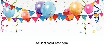 Birthday celebration banner