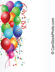 Birthday Celebration - Vector Illustration Of Birthday ...