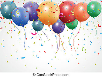 Birthday celebration with balloon
