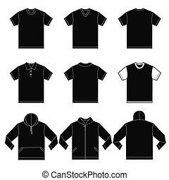 Black Shirts Template