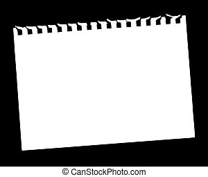 Blank Page - Vector Illustration of Blank Page