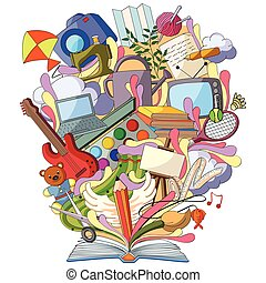 Book of Knowledge for Art and Craft Hobby