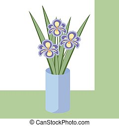 Vector illustration of bouquet