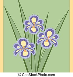 Vector illustration of bouquet.