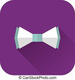 Vector Illustration Of Bow Tie Icon