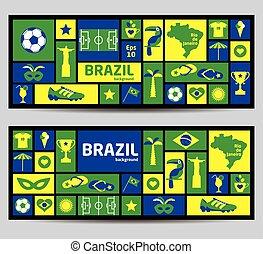 Vector Illustration of Brazil
