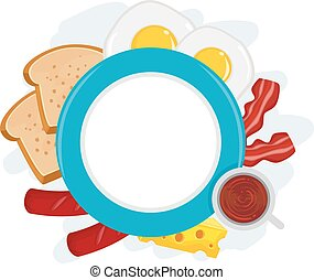 Breakfast Plate Frame
