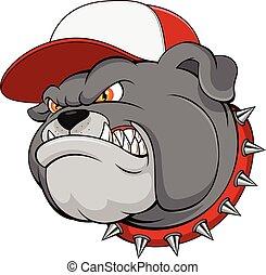 Bulldog Mascot Cartoon