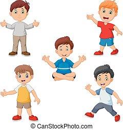 Cartoon boys collection set