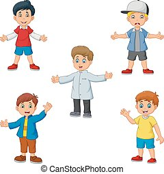 Cartoon boys collection set