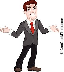 Cartoon Business Presentation