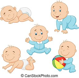 Cartoon collection baby boy