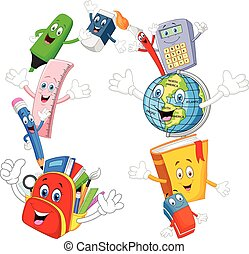 Cartoon Collection stationery givin
