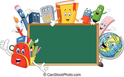 Cartoon collection stationery with