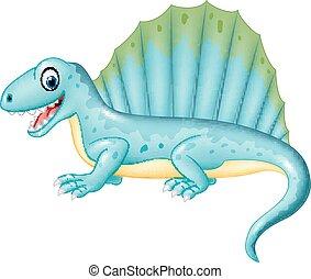 Cartoon dinosaur