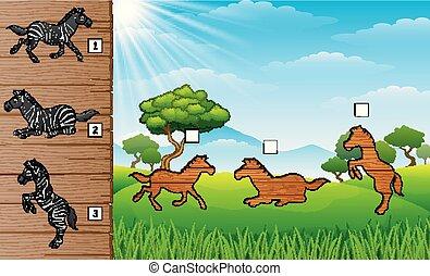 Zebra finch bird educational game vector. Zebra finch bird ...