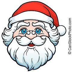 Santa Claus - Vector illustration of Cartoon Santa Claus...